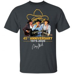 George Strait 45th Anniversary Signature T-Shirts, Hoodies, Long Sleeve
