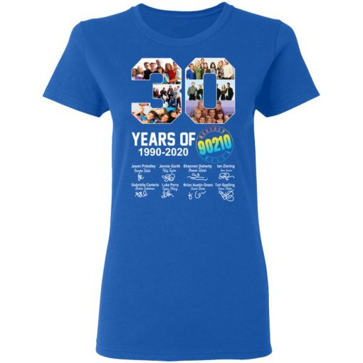 30 years of Beverly Hills 90210 1990 2020 Signature T-Shirts, Hoodies, Long Sleeve