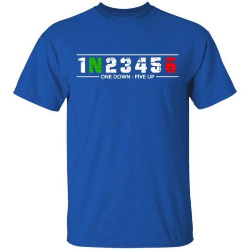 1 N 2 3 4 5 6 One Down Five Up T-Shirts, Hoodies, Long Sleeve