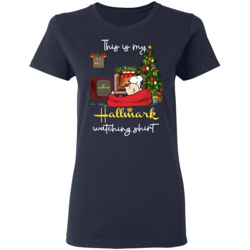 Snoopy This Is My Hallmark Watching T-Shirts, Hoodies, Long Sleeve
