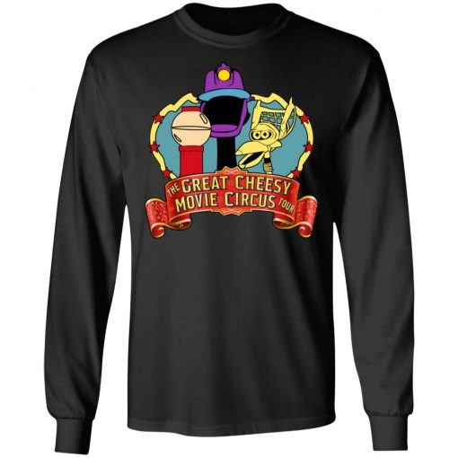 The Great Cheesy Movie Circus Tour T-Shirts, Hoodies, Long Sleeve