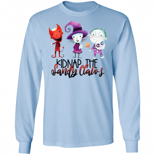 Kidnap The Sandy Claws T-Shirts, Hoodies, Long Sleeve