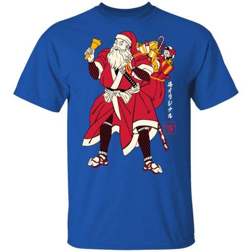 Christmas Santa Samurai T-Shirts, Hoodies, Long Sleeve