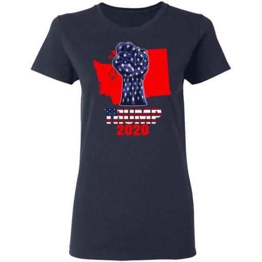 Washington For President Donald Trump 2020 Election Us Flag T-Shirts, Hoodies, Long Sleeve