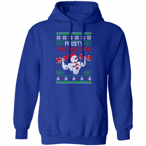 Frosty The Swoleman T-Shirts, Hoodies, Long Sleeve