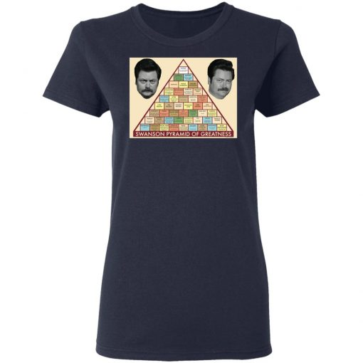 Parks and Recreation Swanson Pyramid of Greatness T-Shirts, Hoodies, Long Sleeve