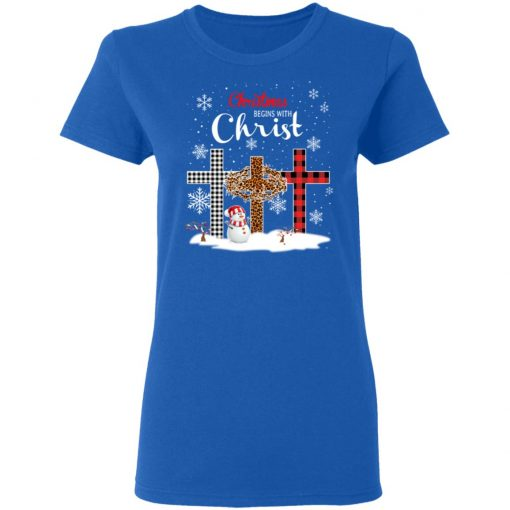 Christmas Begins With Christ T-Shirts, Hoodies, Long Sleeve