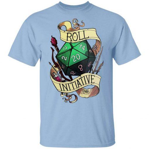 Roll Initiative T-Shirts, Hoodies, Long Sleeve