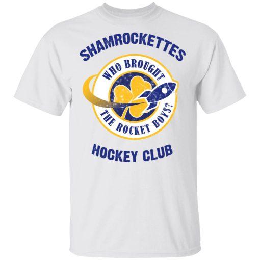 Shamrock Ettes Hockey Club Who Brought The Rocket Boys? T-Shirts, Hoodies, Long Sleeve