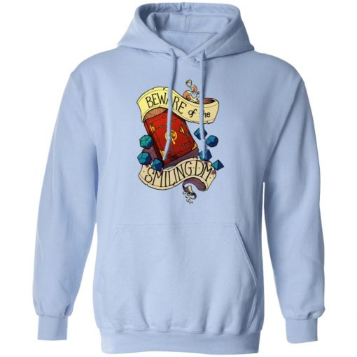 Beware Of The Smiling Dungeon Master T-Shirts, Hoodies, Long Sleeve