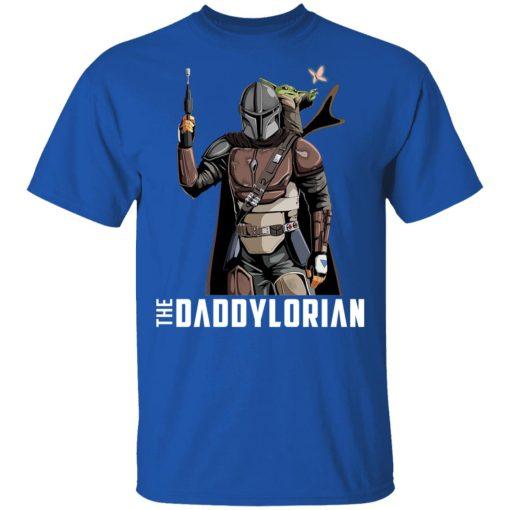 The Daddylorian Daddy Baby Yoda Mandalorian T-Shirts, Hoodies, Long Sleeve