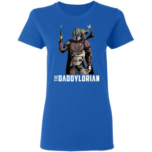The Daddylorian Daddy Baby Yoda Mandalorian T-Shirts, Hoodies, Long Sleeve