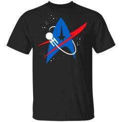 Star Trek Mixed Nasa Badge T-Shirts, Hoodies, Long Sleeve