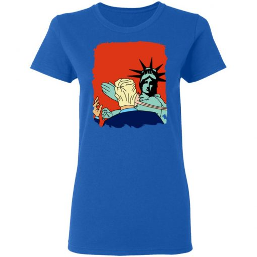 Donald Trump Slap Politics Trump New York Liberty T-Shirts, Hoodies, Long Sleeve