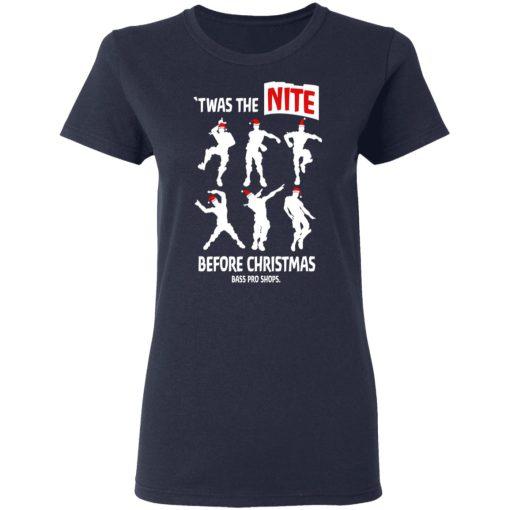 Twas The Nite Before Christmas Bass Pro Shops T-Shirts, Hoodies, Long Sleeve