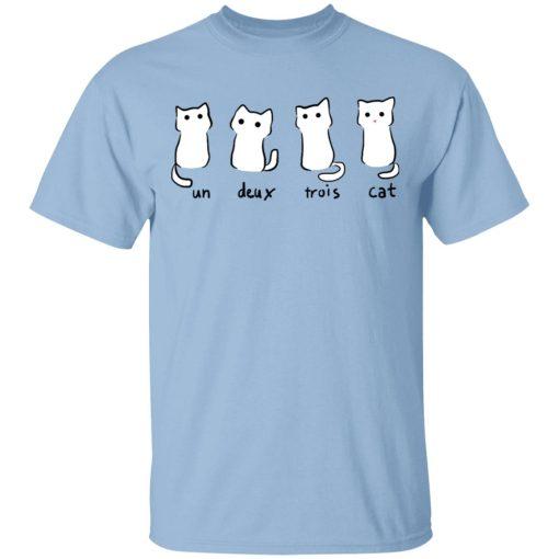 Un Deux Trois Cat T-Shirts, Hoodies, Long Sleeve