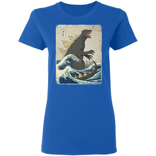 The Great Godzilla Off Kanagawa T-Shirts, Hoodies, Long Sleeve