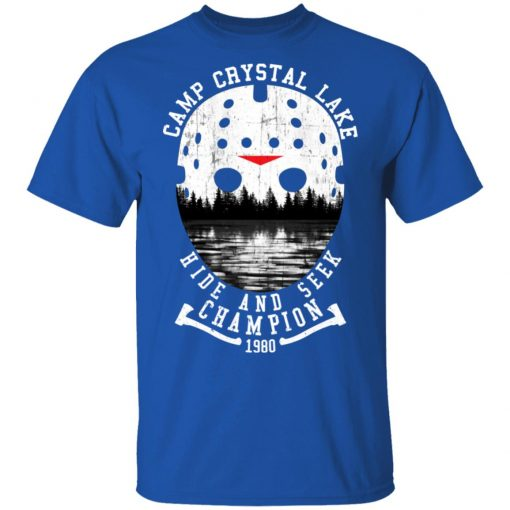 Camp Crystal Lake Hide And Seek Champion 1980 T-Shirts, Hoodies, Long Sleeve