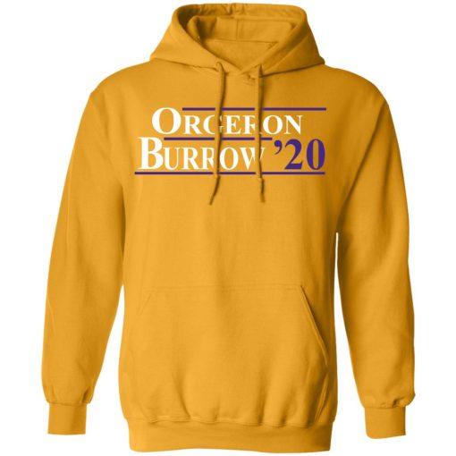 Orgeron Burrow 2020 T-Shirts, Hoodies, Long Sleeve