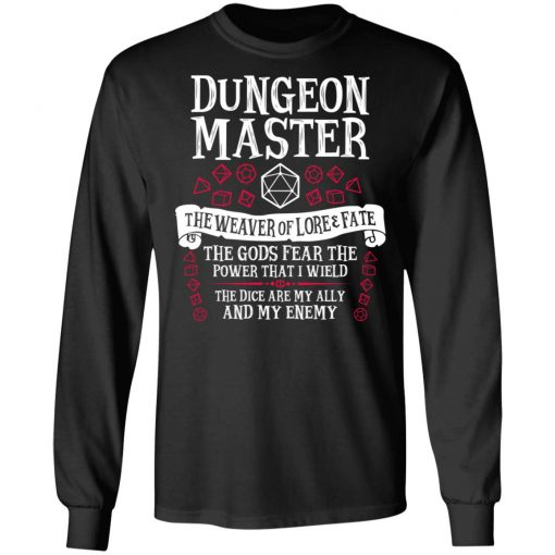 Dungeon Master, The Weaver Of Lore & Fate – Dungeons & Dragons T-Shirts, Hoodies, Long Sleeve