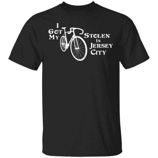 I Got My Bike Stolen In Jersey City T-Shirts, Hoodies, Long Sleeve