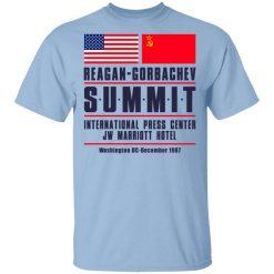 Reagan-Gorbachev Summit International Press Center Jw Marriot Hotel T-Shirts, Hoodies, Long Sleeve