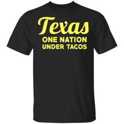 Texas One Nation Under Tacos T-Shirt