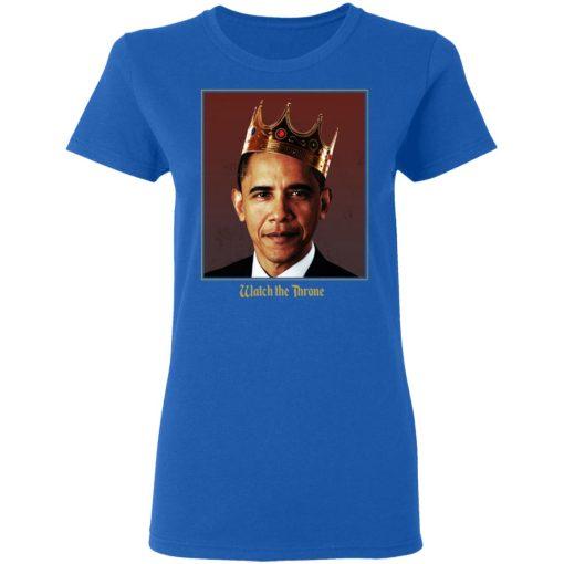 Barack Obama Watch the Throne T-Shirts, Hoodies, Long Sleeve