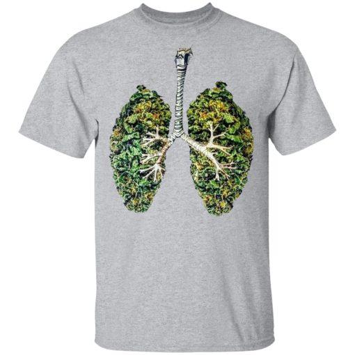 Weed Lungs T-Shirts, Hoodies, Long Sleeve