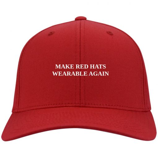 Make Red Hats Wearable Again Red Hats