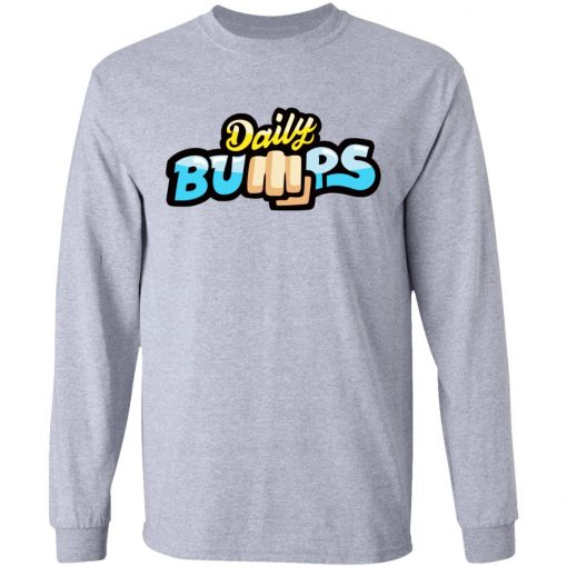 Daily Bumps Logo Merch T-Shirts, Hoodies, Long Sleeve