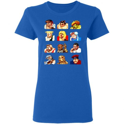 Street Fighter 2 Continue Faces T-Shirts, Hoodies, Long Sleeve