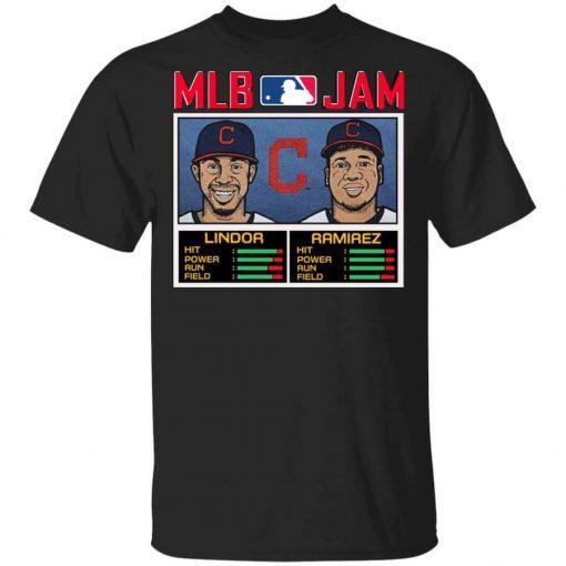 MLB Jam Indians Lindor And Ramirez Shirt, Hoodie, Sweatshirt