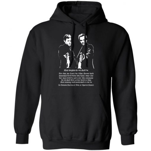 And Shepherds We Shall Be The Boondock Saints T-Shirts, Hoodies, Long Sleeve