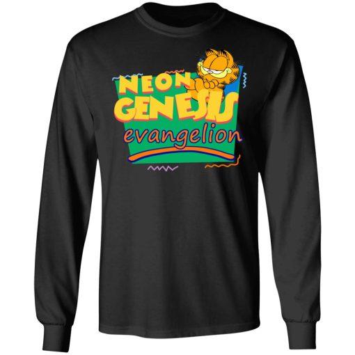 Neon Genesis Evangelion Meets Garfield And Friends Shirt, Hoodie, Sweatshirt