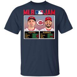 MLB Jam Reds Votto And Suarez Shirt, Hoodie, Sweatshirt