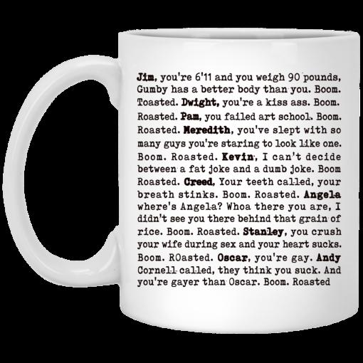 The Office Boom Roasted – Boom Roasted Legendary Michael'S Roasting Mug