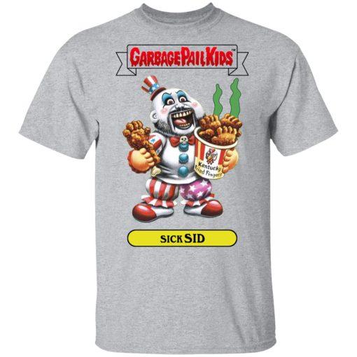 Garbage Pail Kids Sick Sid Captain Spaulding Version T-Shirts, Hoodies, Long Sleeve