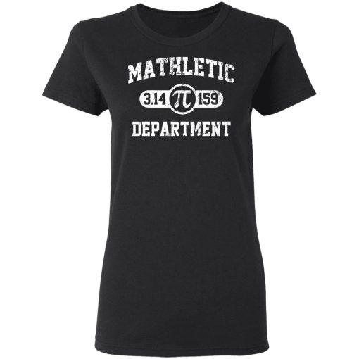 Mathletic Pi Department Pi Day T-Shirts, Hoodies, Long Sleeve