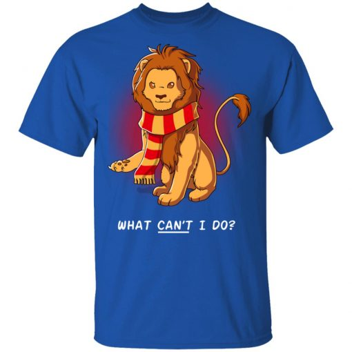 Harry Potter Gryffindor What Can't I Do T-Shirts, Hoodies, Long Sleeve
