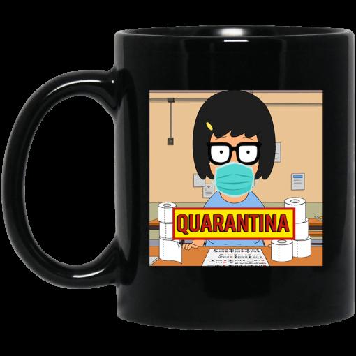 Bob's Burgers Tina Quarantine 2020 Mug