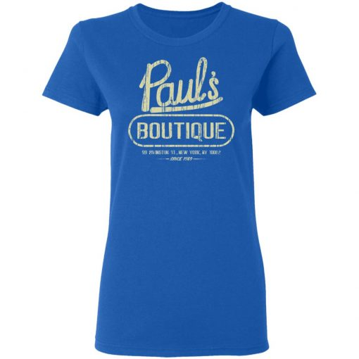 Paul's Boutique New York Since 1989 T-Shirts, Hoodies, Long Sleeve