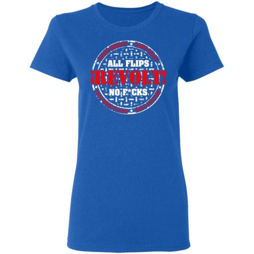 All Flips Revolt No Fucks Caleb Konley T-Shirts, Hoodies, Long Sleeve