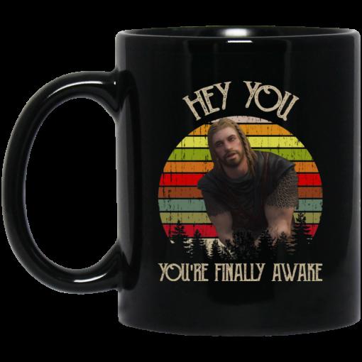 Skyrim Ralof Hey You You're Finally Awake Mug