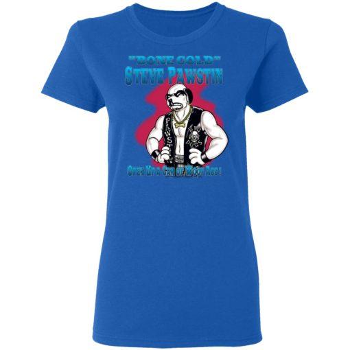 Bone Cold Steve Pawstin Open Up A Can Of Woof Ass T-Shirts, Hoodies, Long Sleeve