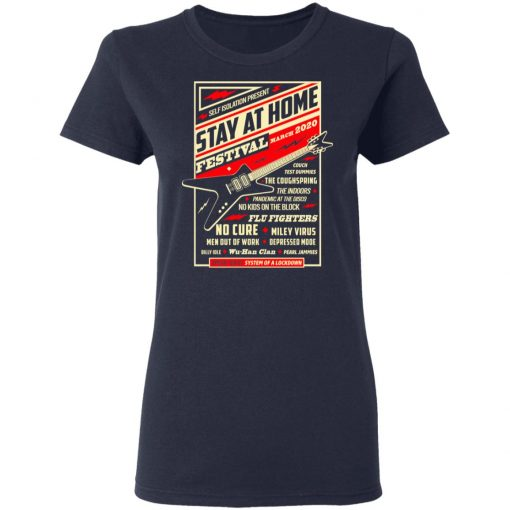Quarantine Social Distancing Stay Home Festival 2020 T-Shirts, Hoodies, Long Sleeve