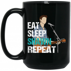 Eat Sleep Shawn Repeat Mug