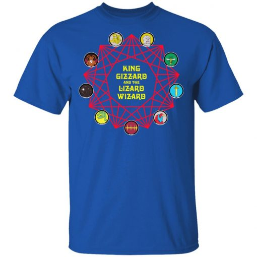 King Gizzard And The Lizard Wizard T-Shirts, Hoodies, Long Sleeve