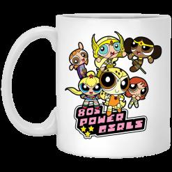 80's Power Girls Mugs