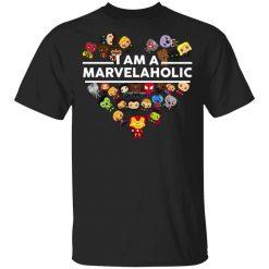 I Am A Marvelaholic T-Shirts, Hoodies, Long Sleeve